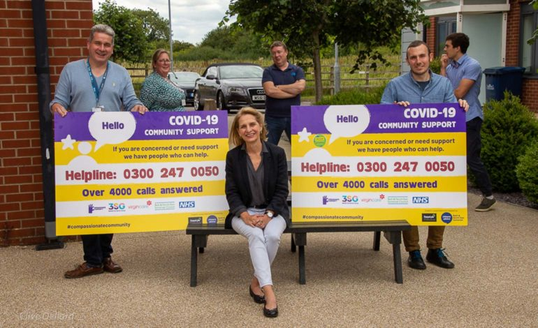 Bath MP Wera Hobhouse praises team at Compassionate Community Hub