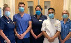 Royal United Hospital staff team up for virtual charity walking marathon