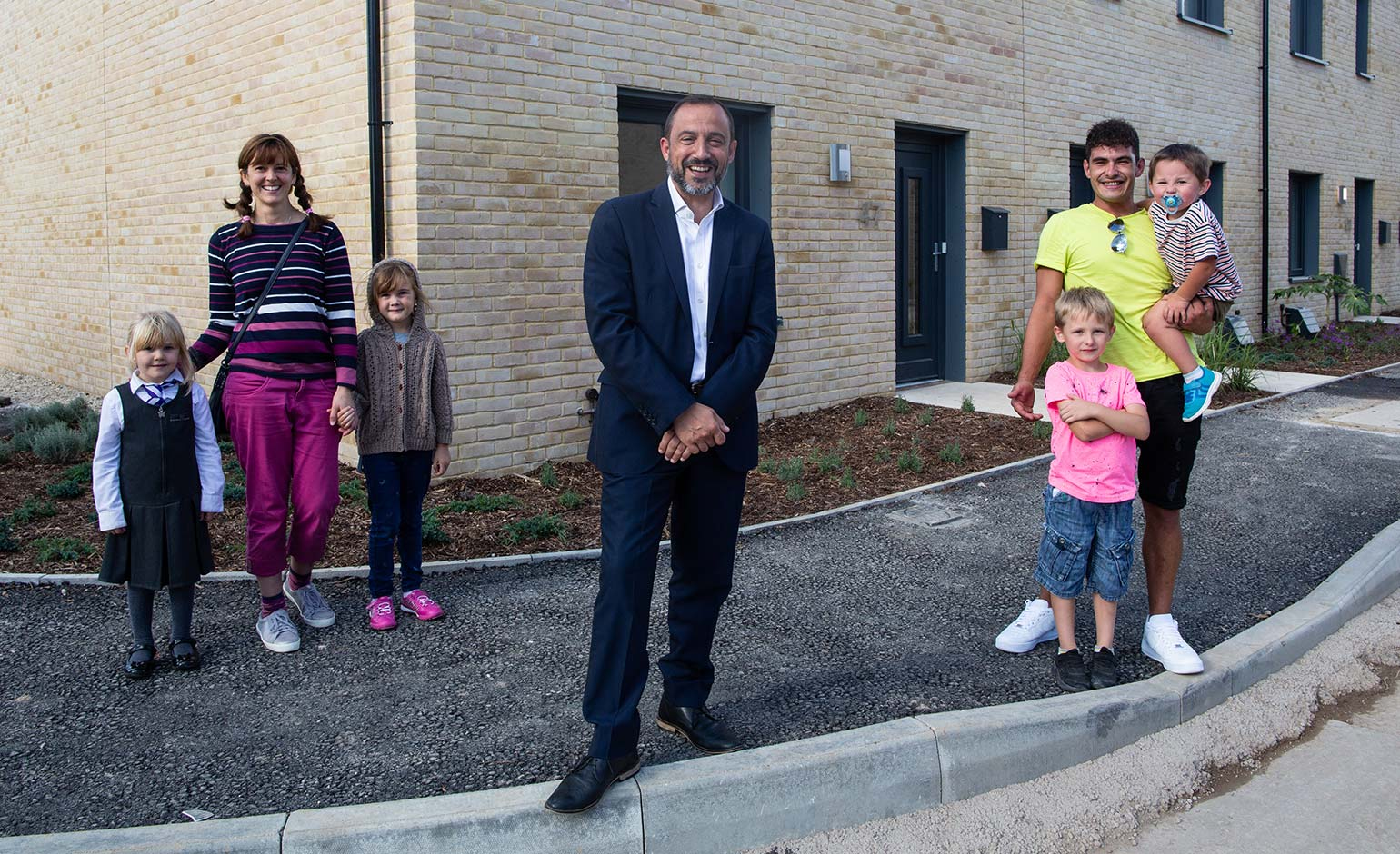 Local families helping to design energy-efficient homes of the future