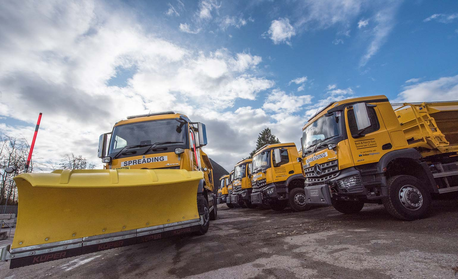 B&NES Council's gritting team to begin testing as they gear up for winter