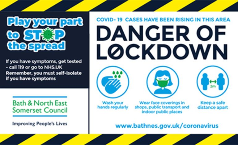 Warning issued over threat of lockdown across Bath & North East Somerset