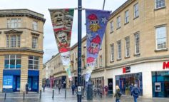City streets lined with festive artwork following Bath BID competition
