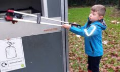 """Six-year-old hailed """"recycling hero"""" as he cleans up his local neighbourhood"""