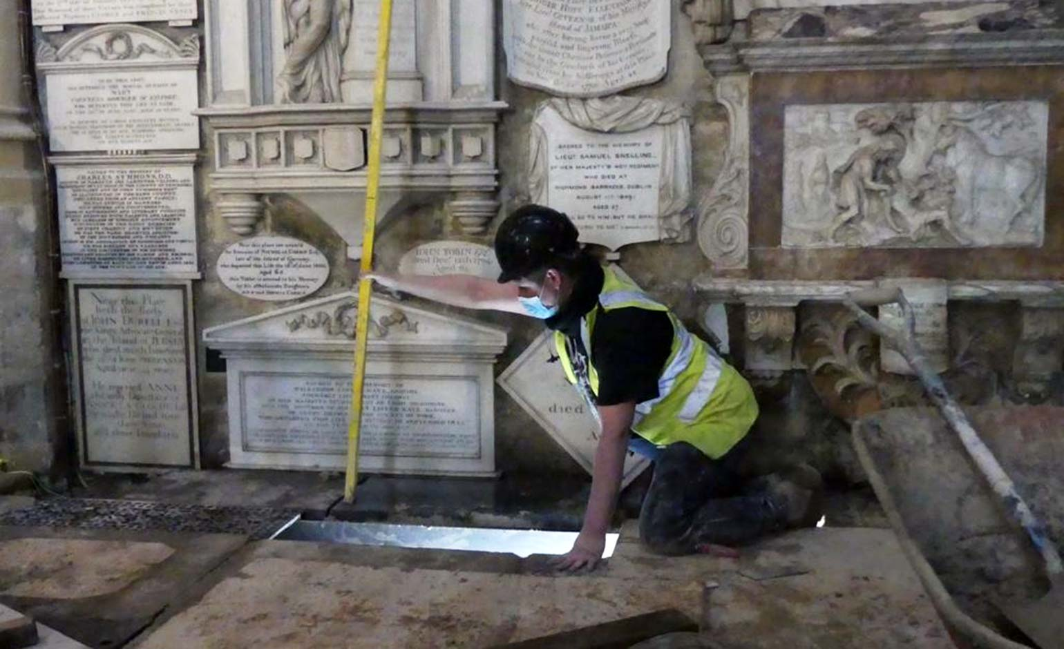 Bath Abbey's floor saved from collapse thanks to years of restoration work