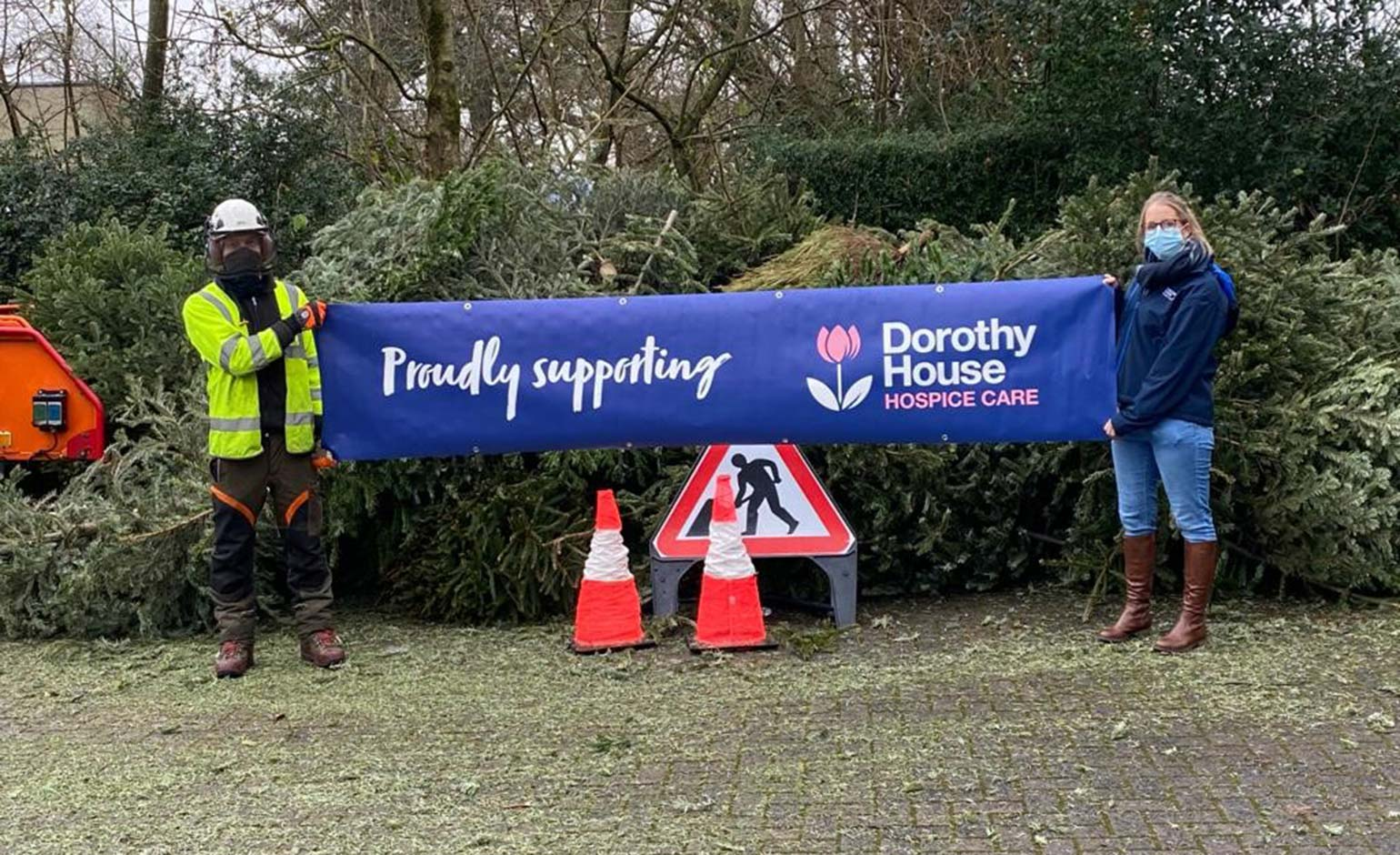 Dorothy House's annual Christmas tree campaign raises more than £66k