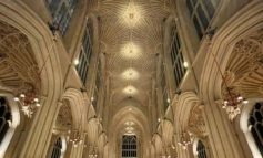 State-of-the-art LED lighting being installed and trialled at Bath Abbey