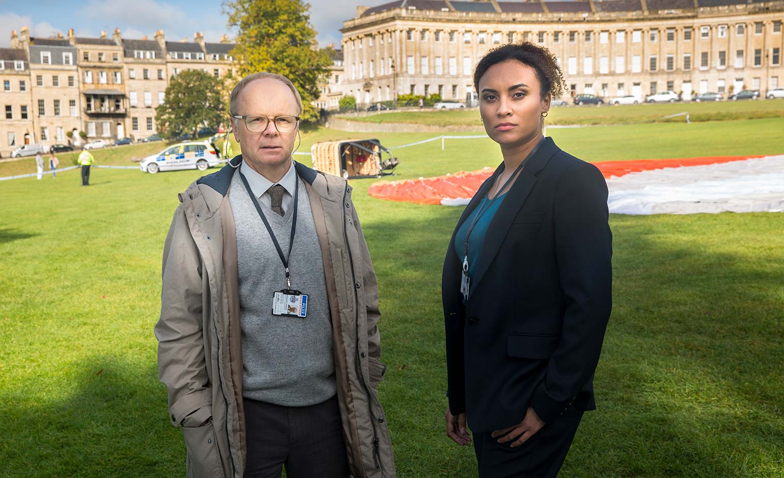 Bath-based drama McDonald & Dodds returning to screens this weekend