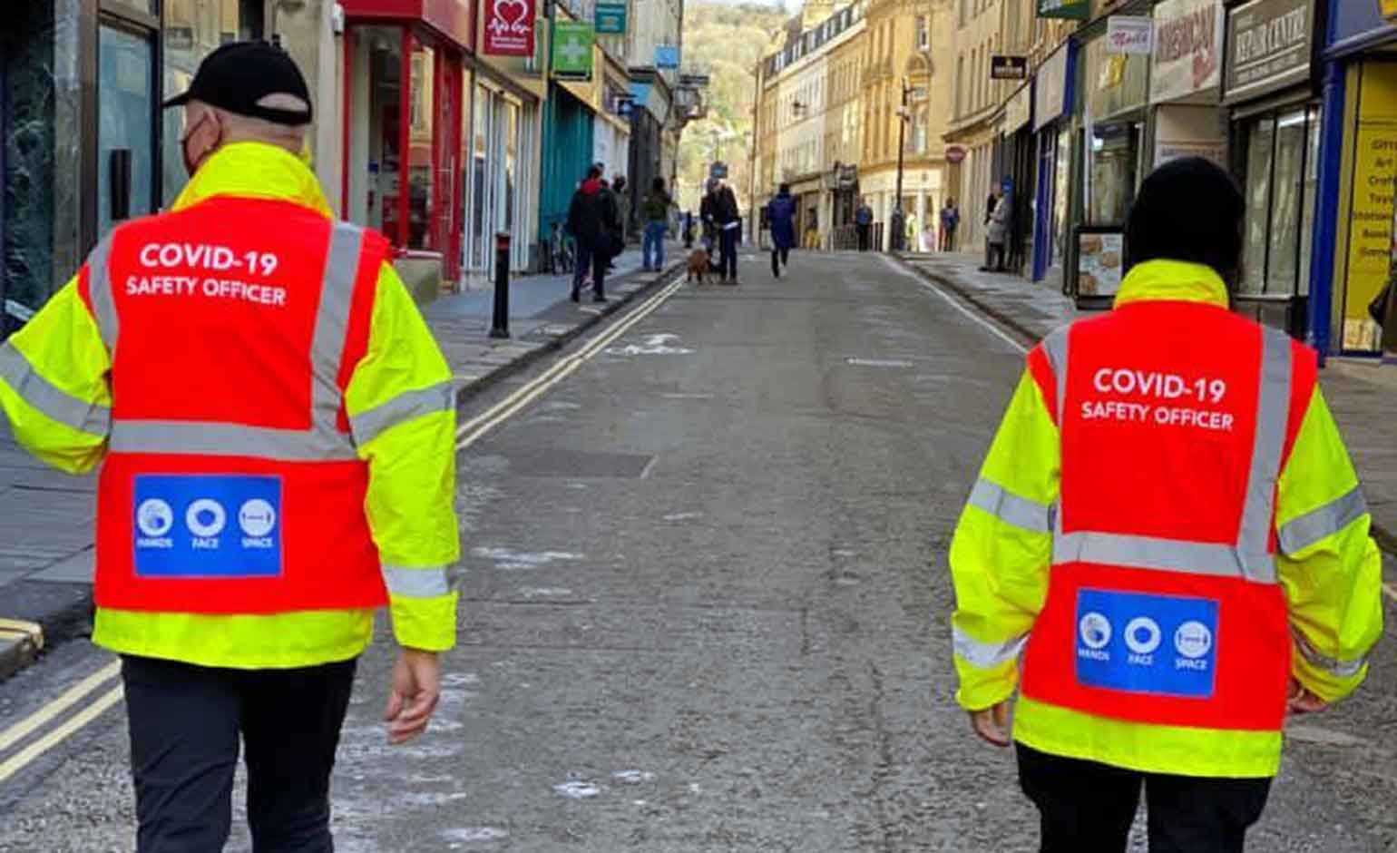 More Covid Safety Officers being introduced to reinforce lockdown guidance