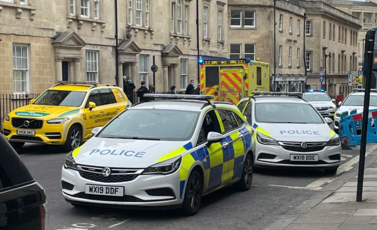 Investigation underway after man in his 20s stabbed in city centre property