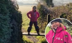 Bath 5-year-old takes on 100-mile walking challenge to help the homeless