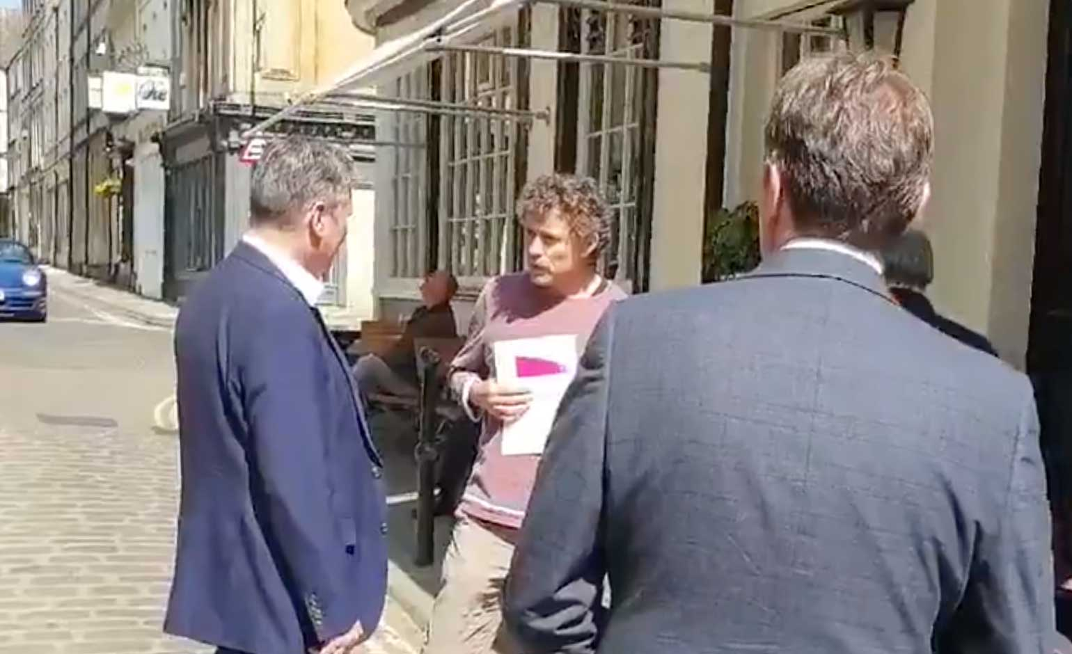 "Bath pub landlord confronts Labour leader on lockdown opposition ""failure"""