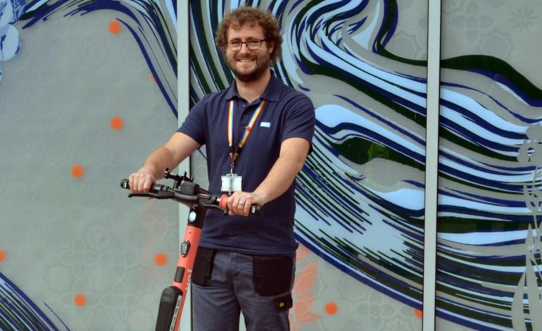 RUH welcomes expansion of e-scooter trial to include Combe Park site