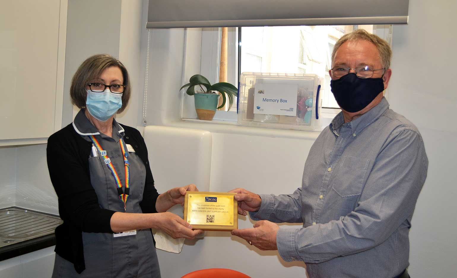 Charity funds quiet room for families of patients receiving end-of-life care