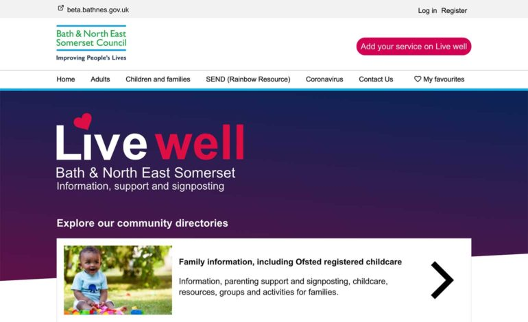 Online support site launched for adults across Bath and North East Somerset