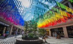 SouthGate Bath reveals rainbow bunting transformation for the summer