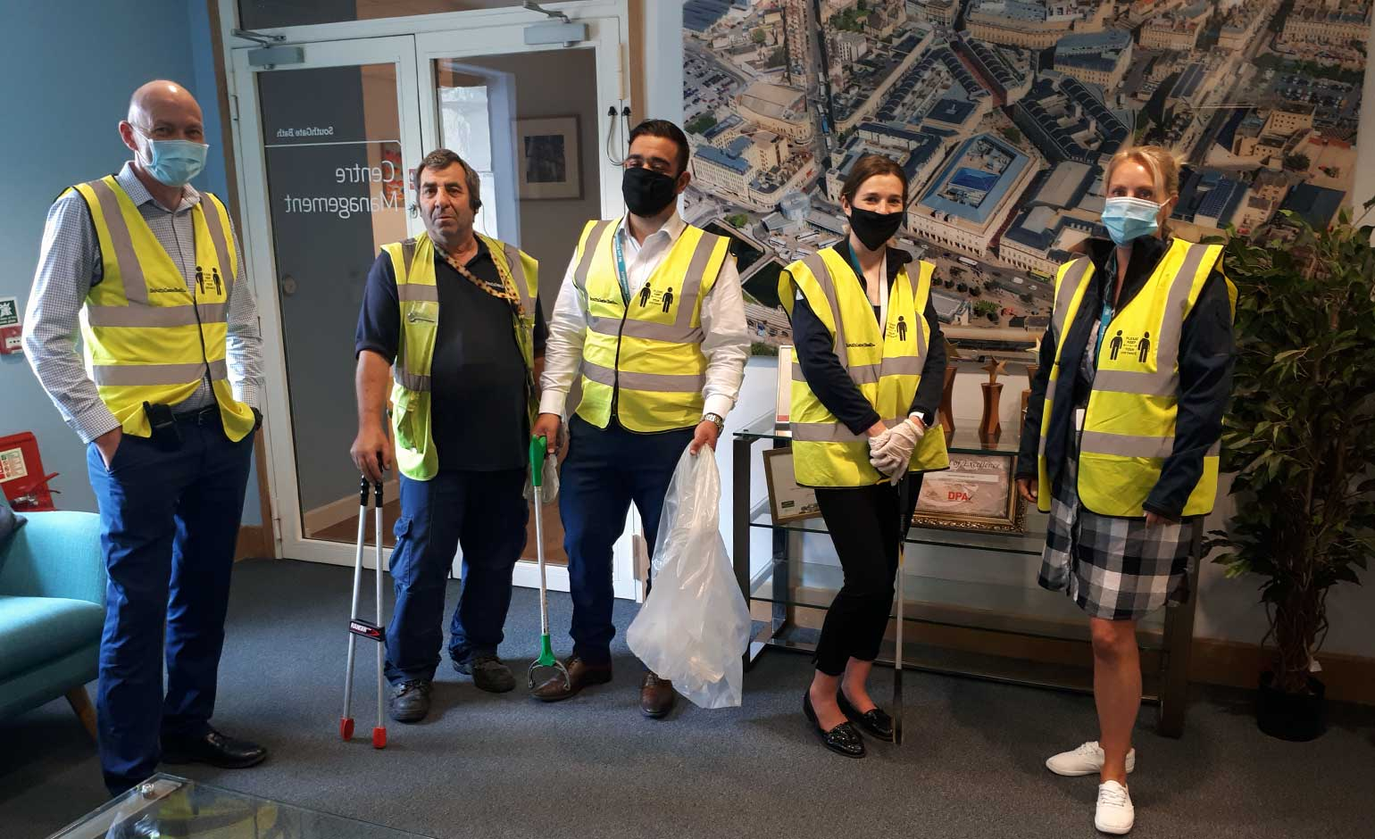 SouthGate team joins spring clean event and collects 60kg of rubbish