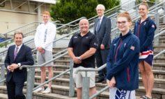 Metro mayor meets University of Bath swimmers ahead of Olympic Games