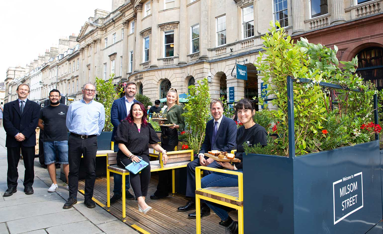 Metro Mayor visits Bath to find out more about city centre improvements
