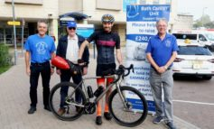 Combe Down cyclist takes on epic two-day ride for Bath cancer unit charity