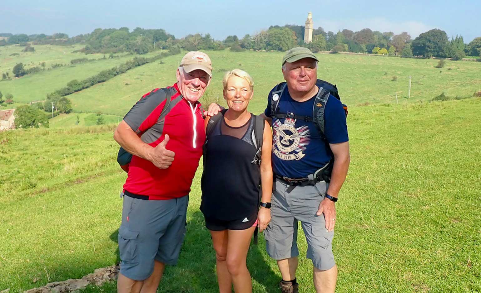 Over 100 walkers take on annual Bath Marches event in aid local charities
