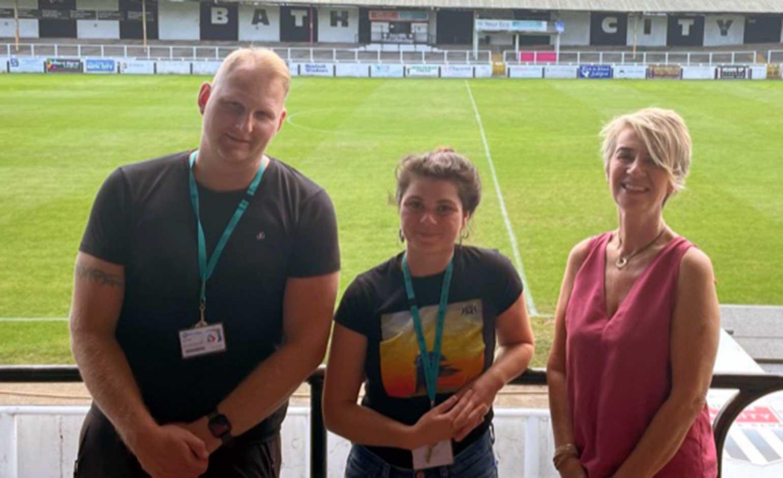 Bath City FC's Twerton Park to host 12-week Prince's Trust programme