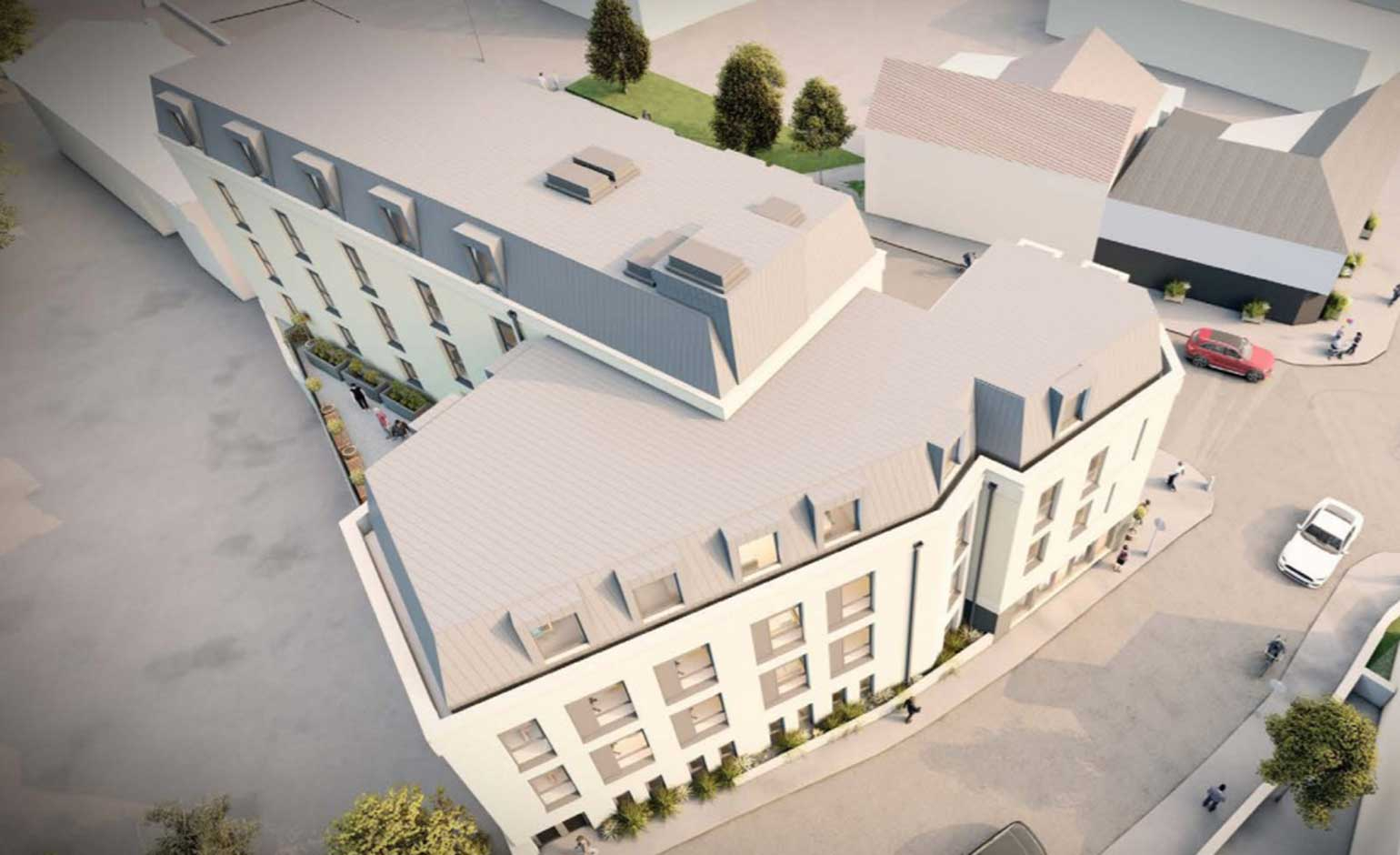 Plans revealed to convert Bath office block into student accommodation