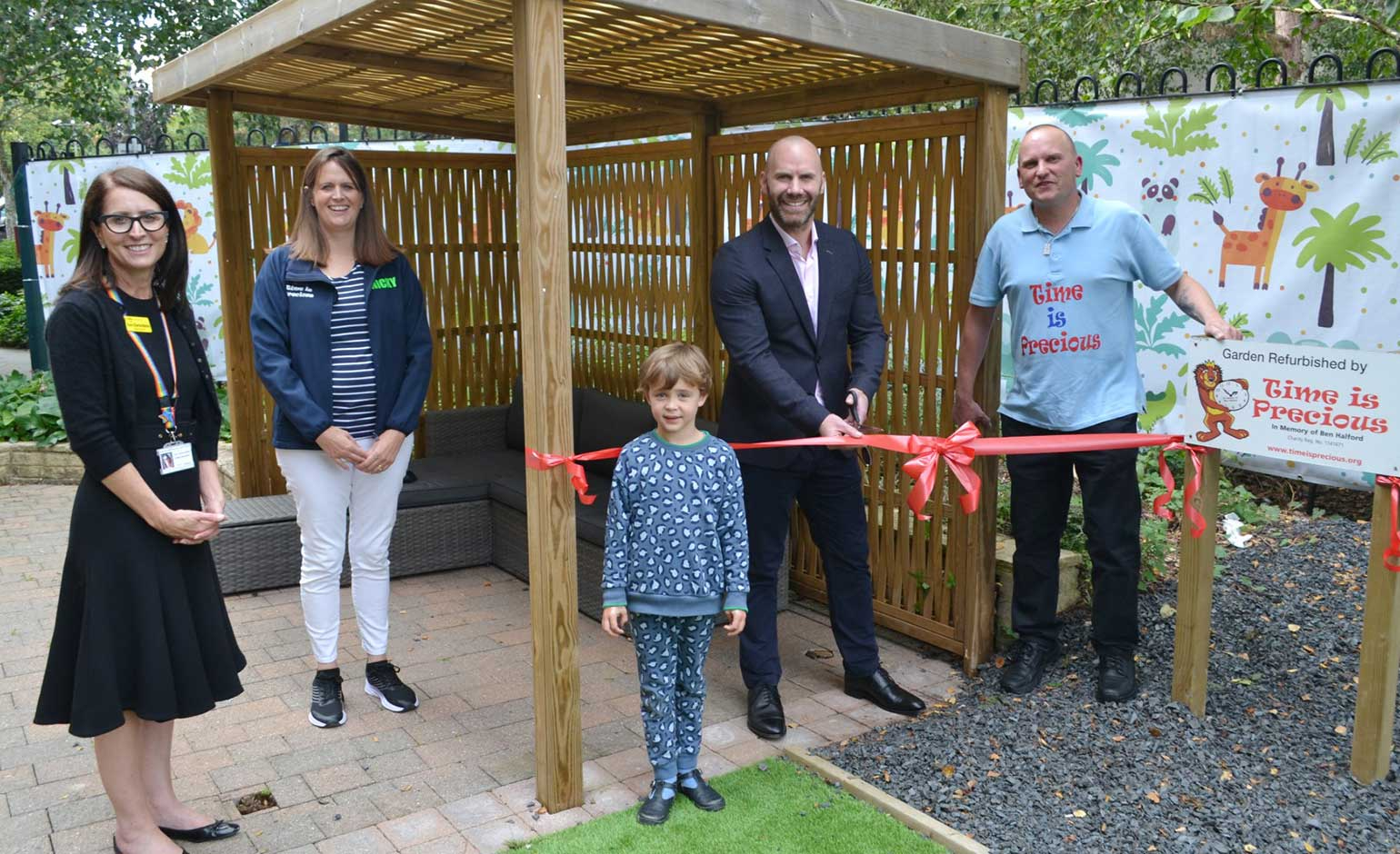 RUH unveils new garden area to help younger patients play and relax